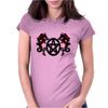Dragons and Pentacle Womens Fitted T-Shirt