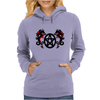 Dragons and Pentacle Womens Hoodie