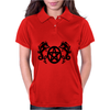 Dragons and Pentacle Womens Polo