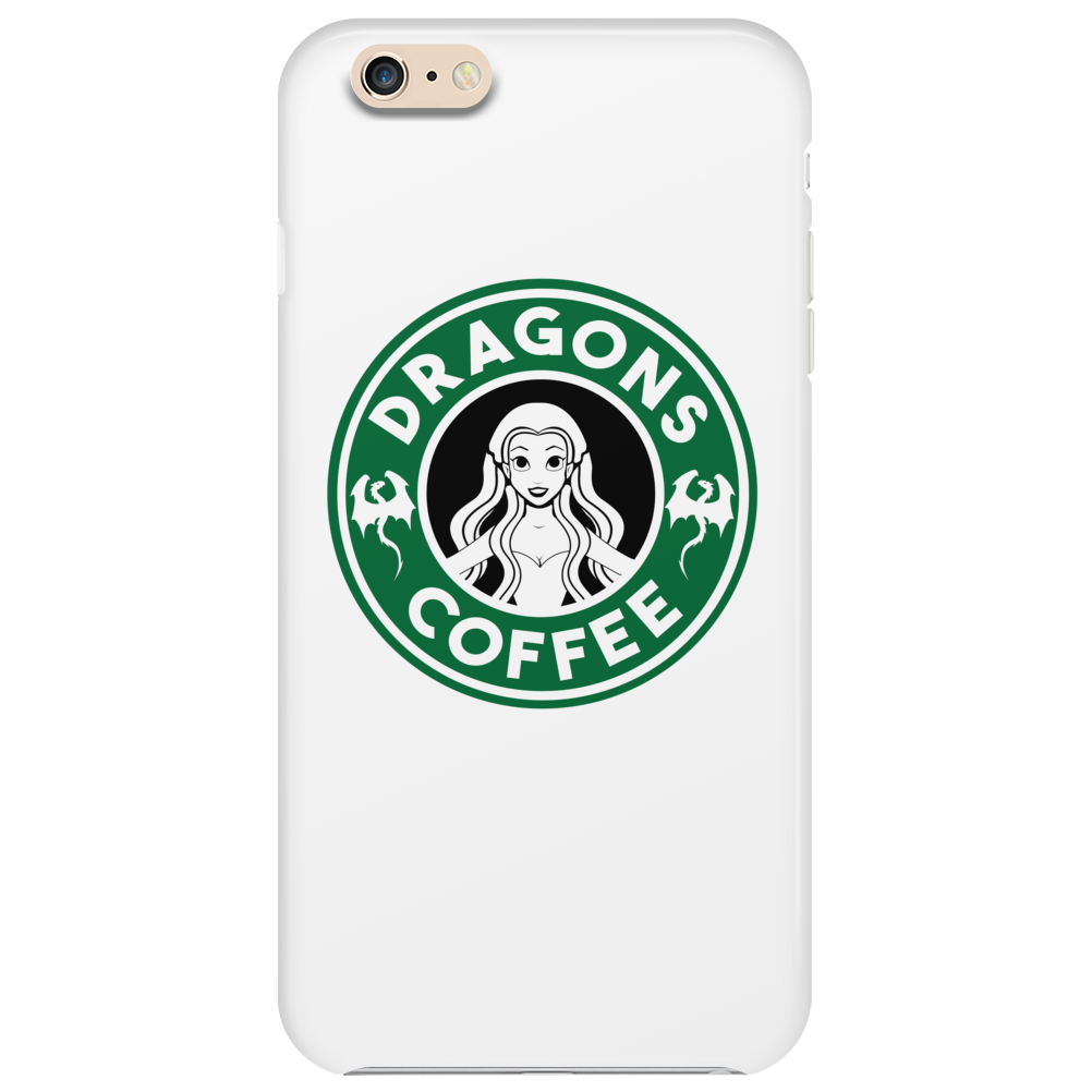 Dragons Coffee Phone Case