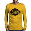 DRAMA QUEEN Mens Long Sleeve T-Shirt