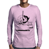 Drawing with a ruling pen Mens Long Sleeve T-Shirt