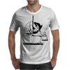 Drawing with a ruling pen Mens T-Shirt