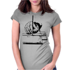 Drawing with a ruling pen Womens Fitted T-Shirt