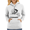 Drawing with a ruling pen Womens Hoodie