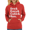 DRE EAZY CUBE RENDRE EAZY CUBE REN Womens Hoodie