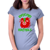 Dread At The Controls. Womens Fitted T-Shirt