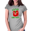 Dread At The Controls Womens Fitted T-Shirt