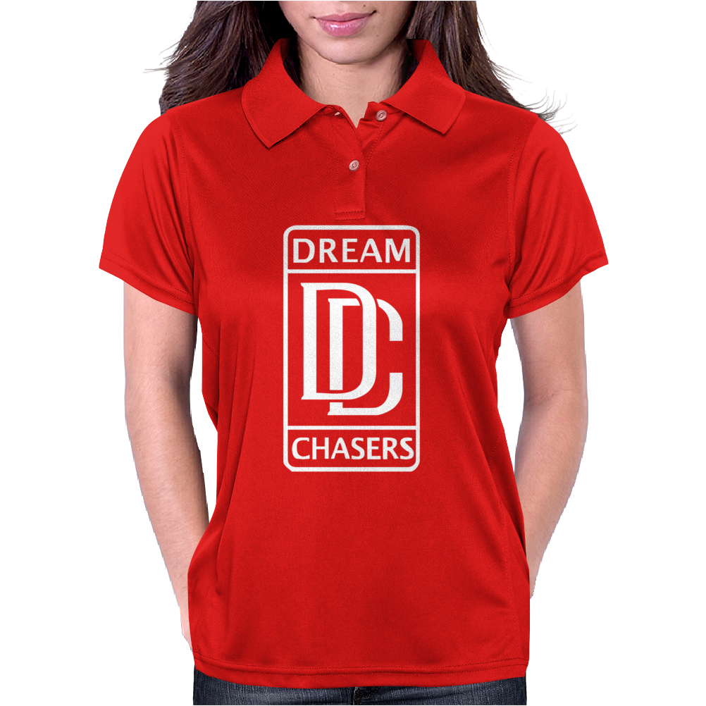 Dream Chasers Gold Womens Polo
