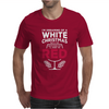 Dreaming Of A White Christmas Wine Funny Mens T-Shirt