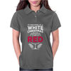 Dreaming Of A White Christmas Wine Funny Womens Polo