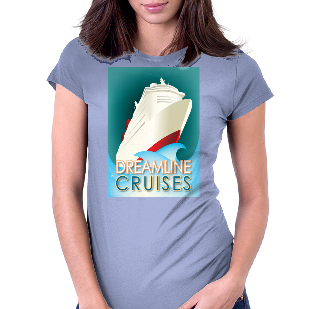 Dreamline Cruises Womens Fitted T-Shirt