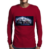 Drift racing - electrically charged Mens Long Sleeve T-Shirt