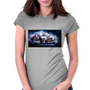 Drift racing - electrically charged Womens Fitted T-Shirt