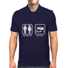 Drifting - Problem Solved Mens Funny Mens Polo