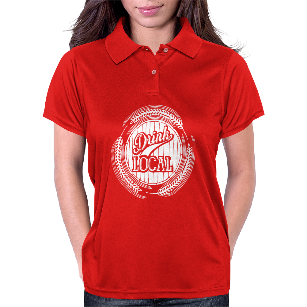 Drink Local Womens Polo