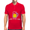 Drink ... Mens Polo