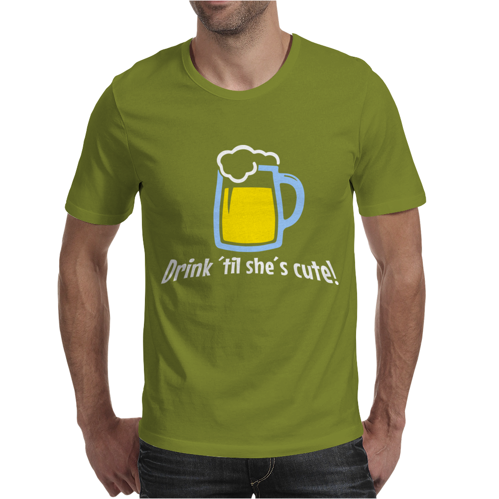 Drink ... Mens T-Shirt