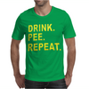 Drink Pee Repeat Mens T-Shirt