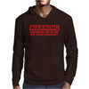 DRINKING WITH ME PREGNANCY WARNING Mens Hoodie
