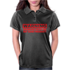 DRINKING WITH ME PREGNANCY WARNING Womens Polo
