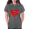 DRIPPING BLOOD SUPERMAN Womens Polo