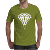 DRIPPING DIAMOND LOGO Mens T-Shirt