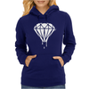 DRIPPING DIAMOND LOGO Womens Hoodie