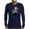 Dripping Zebra Mens Long Sleeve T-Shirt