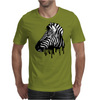 Dripping Zebra Mens T-Shirt