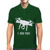 Drone I Can See You Mens Polo