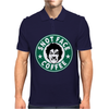 Drop Dead Fred, Snot Face Coffee Mens Polo