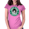 Drop Dead Fred, Snot Face Coffee Womens Fitted T-Shirt