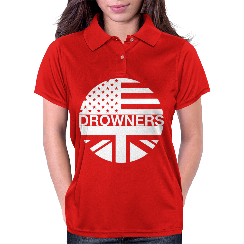 Drowners Funny Womens Polo