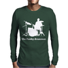 Drum Mens Long Sleeve T-Shirt