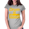 Drum N Bass Birthday Music Womens Fitted T-Shirt