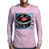 Drum Record Player Mens Long Sleeve T-Shirt