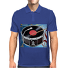 Drum Record Player Mens Polo