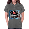 Drum Record Player Womens Polo