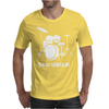 DRUMMER DRUM KIT INDIE ROCK MUSIC Mens T-Shirt