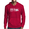 Drums - Problem Solved - Mens Funny Mens Hoodie