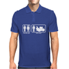 Drums - Problem Solved - Mens Funny Mens Polo