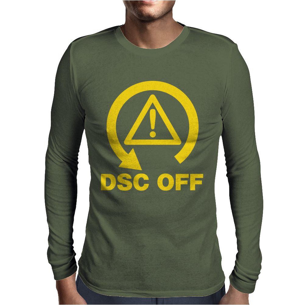 DSC Off Track Day Mens Long Sleeve T-Shirt