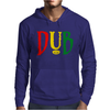 Dub Reggae Club Step Music Rasta Cool Retro Mens Hoodie