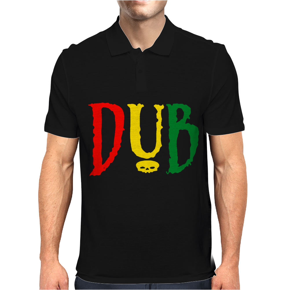 Dub Reggae Club Step Music Rasta Cool Retro Mens Polo