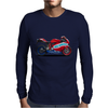 Ducati motorbike Mens Long Sleeve T-Shirt