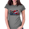 Ducati motorbike Womens Fitted T-Shirt
