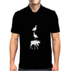 Duck Duck Moose Funny Mens Polo