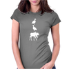 Duck Duck Moose Funny Womens Fitted T-Shirt