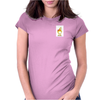 Duck with Present - Ente mit Geschenk Womens Fitted T-Shirt